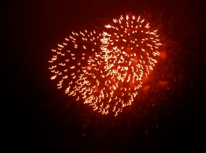 fireworks+heart