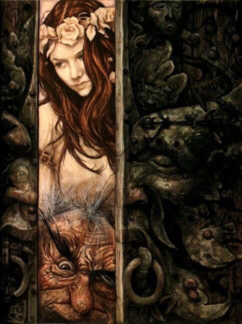 labyrinth  brian froud 2 girl