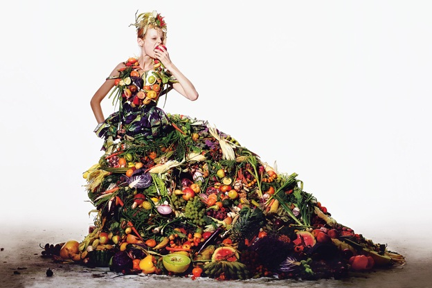 fruits lady