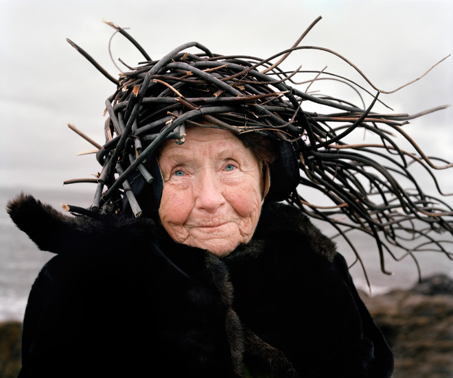 old woman nest