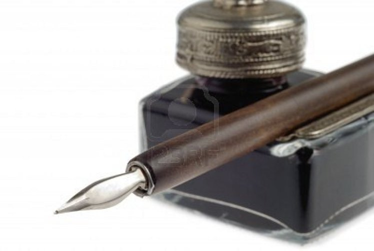 pen-and-inkpot