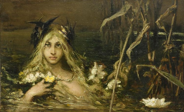 water-nymph by wilhelm kotarbinski
