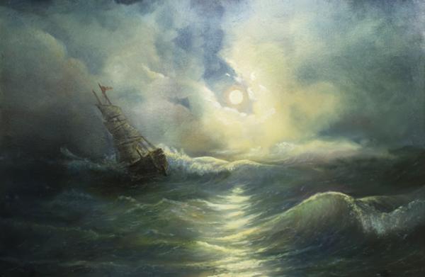 storm-ravaged-ship-vladimir-bibikov