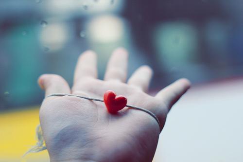 inima pe palma