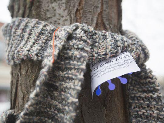 scarf tree