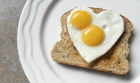 heart egg