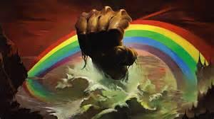 rainbow fist