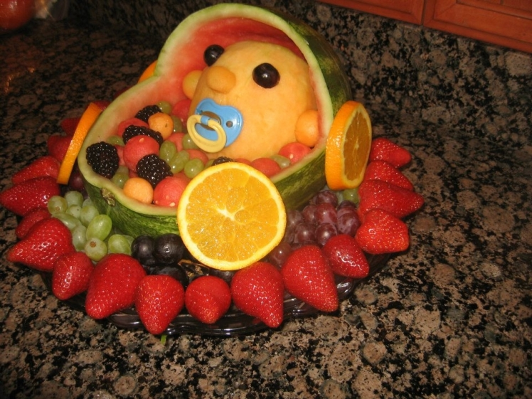 Fruit Baby Shower Salad