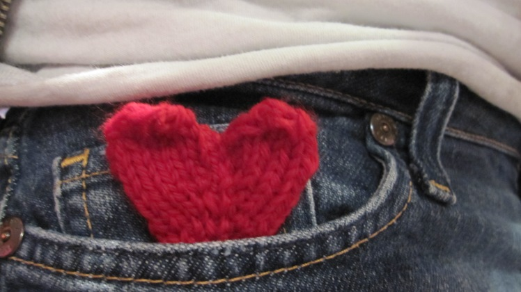 heart in a pocket