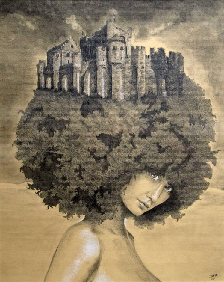 lady_of_the_castle_by_Joeri Van Royen
