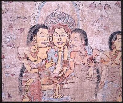 balinese-painting-detail-arjuna-wiwaha-arjuna-metapa