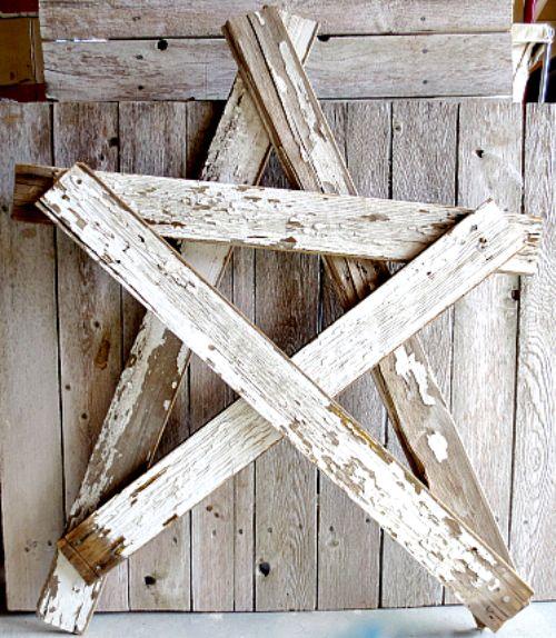 wood-star