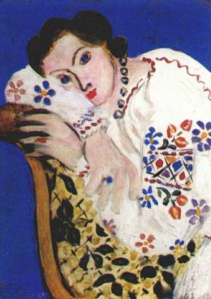 bluza_taraneasca__pictura_de_matisse-_romanian_blouse___matisse_painting