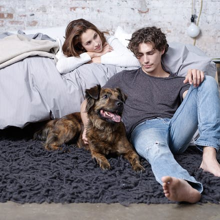 he with dog