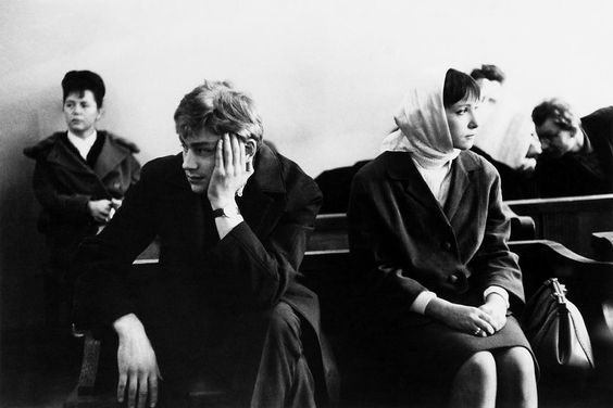 Eve Arnold USSR. Moscow. Divorce. 1966