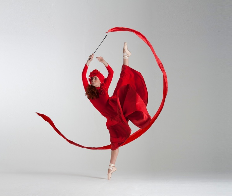 ribbon ballerina