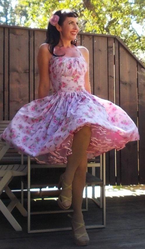 floral dress she