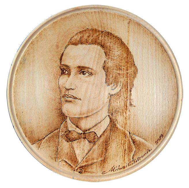 Image result for medalion Eminescu